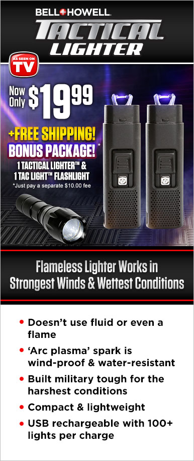 Fill Out The Form Below To Order Your Tactical Lighter™ Now! This Offer Is Not Available In Stores!